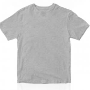 polo gris polyester tacto algodón